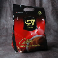 [G7] Pure Black Instant Coffee 100 SACHETS Trung Nguyen Vietnamese Coffee new