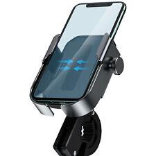 Soporte Móvil para Bici/Moto al Manillar de Baseus - Negro