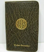 1928 Beecher Peck & Lewis Detroit MI Address Book Maps Telephone Numbers Maps