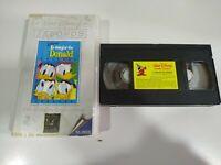 Lo Mejor de Donald Walt Disney - VHS Cinta Tape Español