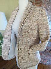 NEW Coldwater Creek Textured Stitched Boucle Jacket NWT Size 6 Retail $129