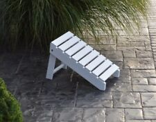 A&L Furniture Co. Amish-Made Folding Poly Ottoman for Cupholder Adirondack Chair