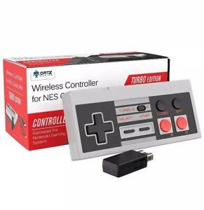 WIRELESS Controller For NES Classic Mini **Turbo Edition ORTZ