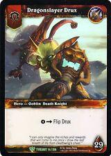 WOW Dragonslayer Drux TWLIGHT 14/220 FOIL - WORLD OF WARCRAFT ENG MINT