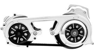 "Belt Drives LTD BDL Chrome 2"" Open Belt Drive M18S-B Harley M8 Softail 18-Up"