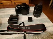 Canon EOS Rebel T3 DS126291 Digital SLR Camera - GOOD CONDITION