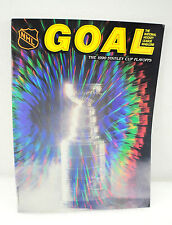 Vintage Goal Hockey Magazine The 1990 Stanley Cup Playoffs