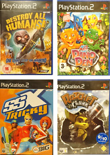 Playstation 2 Games PS2 Buzz! Ratchet & Clank, Destroy all Humans, Tomb Raider