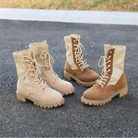 7367Women Military Tactical Boots Desert Combat Outdoor Army Hiking Travel Shoes