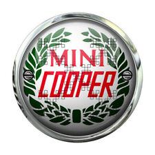 583 CLASSIC MINI COOPER BADGE RUND 9,5 cm AUFKLEBER STICKER AUTOCOLLANT BRITISH