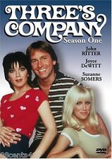 """Three's Company - Season One (DVD) """"Come and Knock On Our Door"""" Suzanne Somers"""