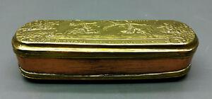 Snuffbox/Tobacco Tin - Iserlohn - Brass/Copper - 1774