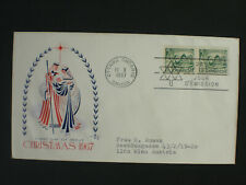 CANADA 1967 - FDC - Christmas 1967 - gelaufen mailed