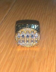 1994 San Francisco 49ers Championship Replica Super Bowl Ring Size 11