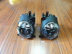 Pair Fog Driving Lights Left and Right lamp for Mitsubishi Lancer CJ 2007.9-2012