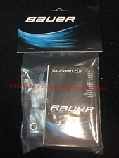 Bauer HDO Visor Pro-Clip Side Kit (2017)! Hockey Helmet Hardware 1052182 2 Pack