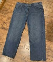 Men's 46x32 Foundry Big & Tall 100% Cotton Denim Jeans