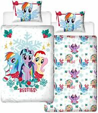 MY LITTLE PONY HOLLY SINGLE DUVET COVER & PILLOWCASE SET KIDS CHILDRENS BEDDING