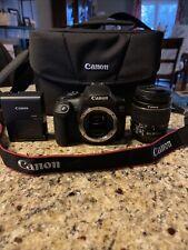 Canon EOS Rebel T7 / EOS 800D 24.2MP Digital SLR Camera - Lens And Bag