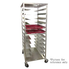 Carter-Hoffmann Al12 Room Service Meal Tray Delivery Cart