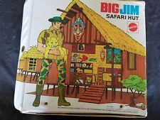 Vintage Big Jim Safari Hut---rare & awesome display item