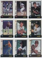 1998 Bowman Chrome Baseball Refractor / International You Pick Finish Your Set