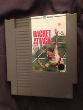 Racket Attack (Nintendo, 1988) NES GAME Cartridge! Sport! NTSC! Black Seal!