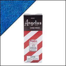 Angelus Brand Light Blue Suede Dye & Dressing with Applicator in 3 Fl. Oz.