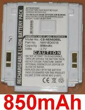 Batterie 850mAh type MAY-BD0016 Pour NEC N401i