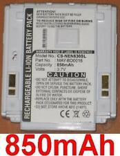 Batería 850mAh tipo MAY-BD0016 Para NEC N401i