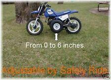 ADJUSTABLE kids pw 50 pw50 training wheels yamaha gear motorcycle