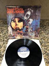 BBC Sound Effects Death & Horror Volune 13 LP Album Record