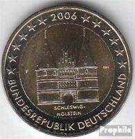 BRD (BR.Deutschland) Jägernr: 519 2006 F Stgl./unzirkuliert 2006 2 EURO Holstent