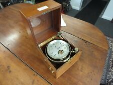 Antique Kelvin, White & Hutton 8 day Marine Chronometer