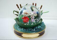 NEW Disney Store Snow Globe The Rescuers 30th Anniversary Retired Rare