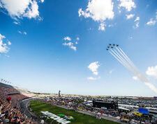 Us Air Force Thunderbirds Fliegen über Daytona 500 11x14 Silber Halogen