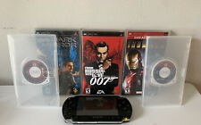 Sony PSP 2001 Bundle Lot + 5 Games Works Playstation Portable READ