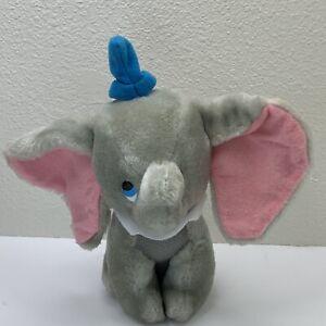 "Disney Dumbo Plush Toy Walt Disney Productions 8"" Stuffed Animal"