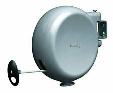 Minky Homecare 15m Retractable Single PVC Reel Outdoor Washing Clothes Line UK
