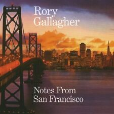 RORY GALLAGHER NOTES FROM SAN FRANCISCO 2 Extra Tracks REMASTERED 2 CD NEW