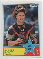 Buster Posey 2018 Topps Series 2 1983 All-Stars #83AS-14 Giants