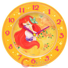 Disney Princess The Little Mermaid Round Wall Clock Table Watch 8""