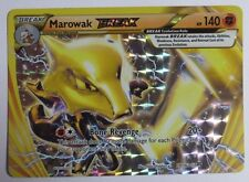 Marowak BREAK - 79/162 XY BREAKthrough - UPSIDE DOWN ERROR/MISPRINT Pokemon Card