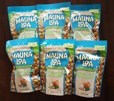Mauna Loa Maui Onion and Garlic Macadamia Nuts - 6 bags (10 oz per bag)