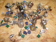 70 lot 100k Dual Audio Taper AB ALLEN BRADLEY Type J Potentiometer Carbon Pot