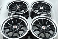 15 Wheels Escort Spark Prelude Del Sol CRX Accord Civic Miata 4x100 4x114.3 Rims