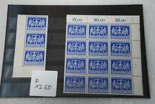 Alliierte Besetzung Bogenteile 970 mit PF970V 970VIII postfrisch