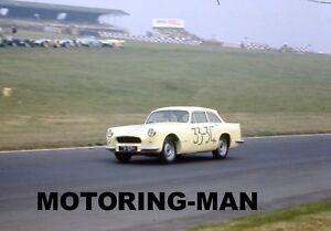 PEERLESS WARWICK GT 75 RBH SIMON HILL BERNIE ROGER BRANDS HATCH 1961 PHOTOGRAPH