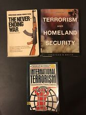 Terrorism and Homeland Security Jonathan White (5th Edition) & 2 Other Books
