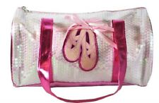 SPENCIL Pink Sequinned 'BALLET' Bag Dance/Dancing Sports Bag *NEW*
